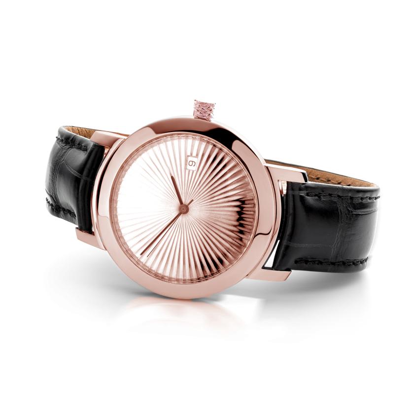 cober nº1 rose gold handmade watch cober jeweller