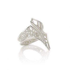 Zilveren ring sieraden cober